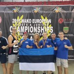 Estonian national team in Spain